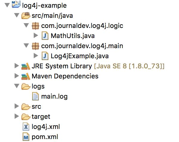 Log4j Tutorial - JournalDev