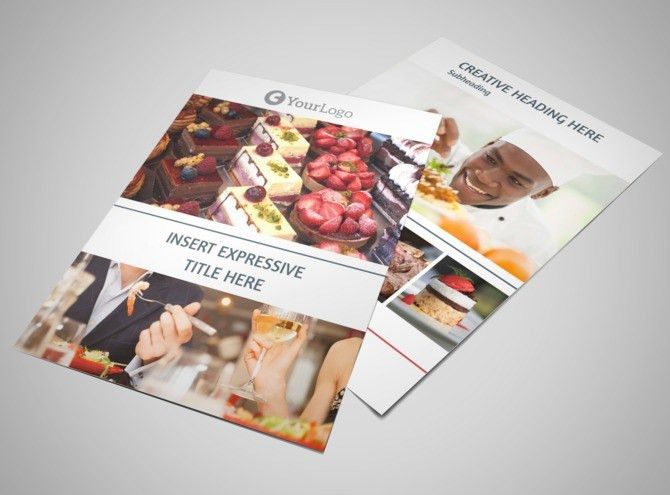 Fine Dining Restaurant Brochure Template | MyCreativeShop