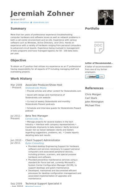 Amazing Producer Resume 12 Associate Producer Resume Samples ...