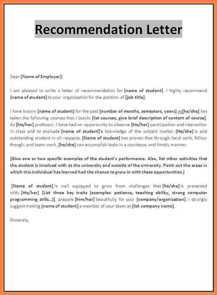 9+ recommendation letter for student scholarship sample | Appeal ...