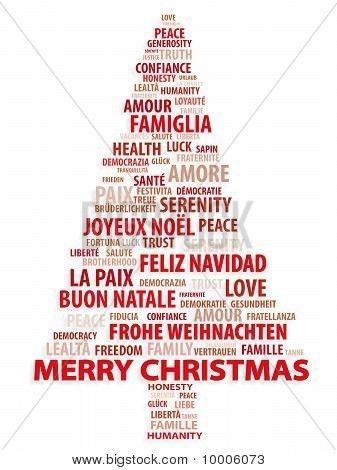 merry christmas in different languages | ... or Photo of Tree of ...