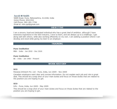 Resume Builder | Resume Templates