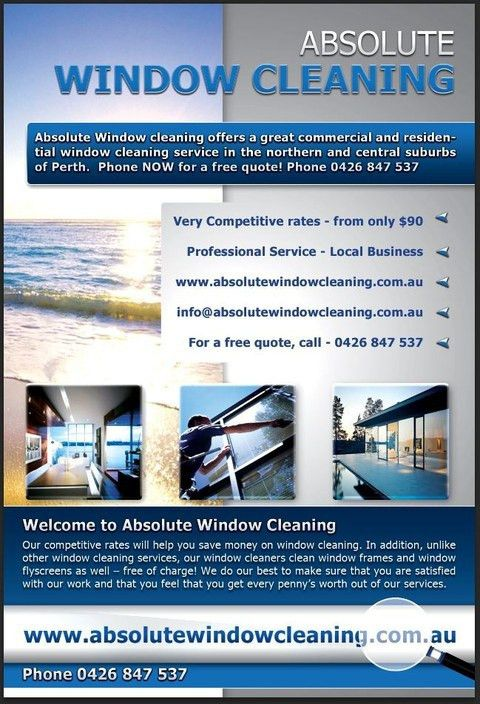 Window Cleaning Services in Joondalup, Perth, WA, Cleaning - TrueLocal