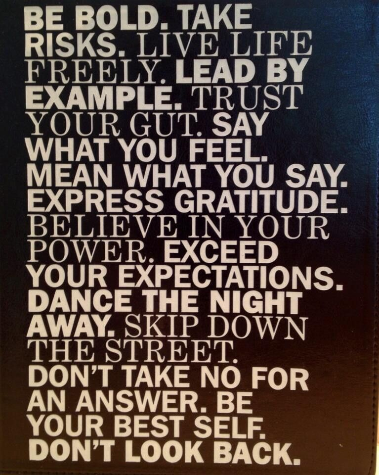 Lead by Example Pictures | ... , Take Risks, Live Life Freely ...