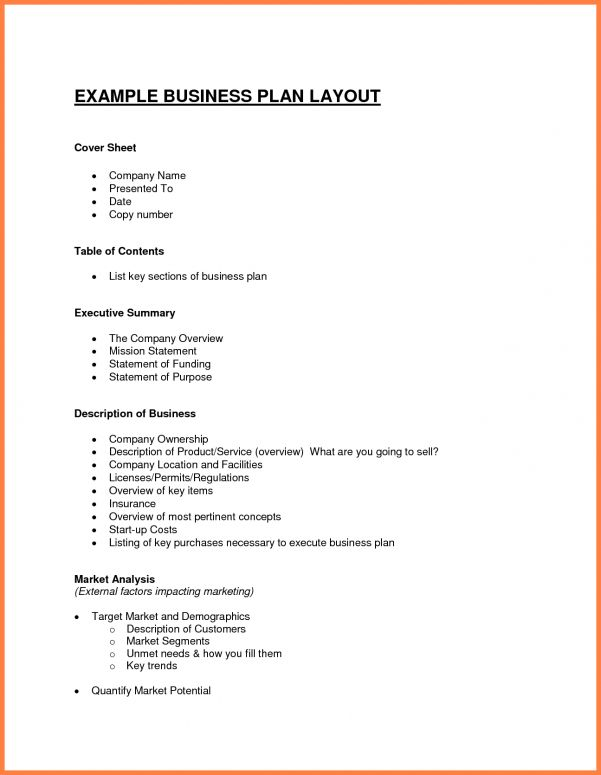 Business Plan Sample Business Plan For Loan Application Sample ...
