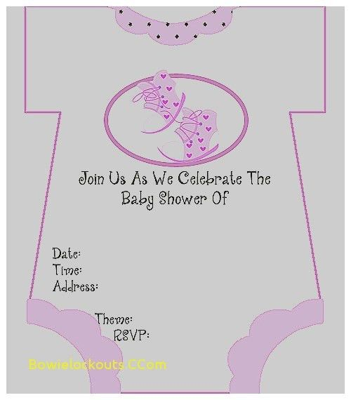 Baby Shower Invitation: Print Out Baby Shower Invitations New Baby ...
