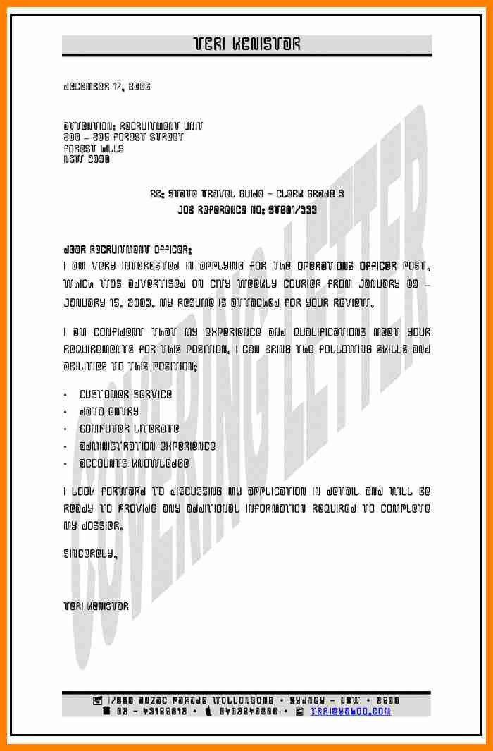 5+ cover letter examples australia | assembly resume
