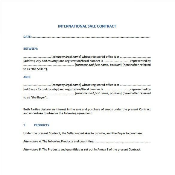 Legal Contracts Template. -4-|Page; 7 Intention To Create Legal ...