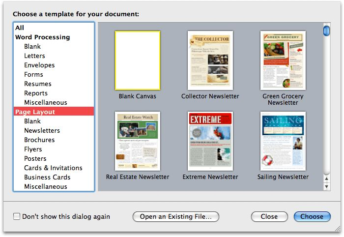 Road to Mac Office 2008: Word '08 vs Pages 3.0