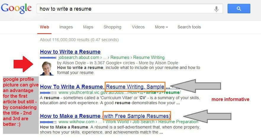 Best Way To Write A Title Tag For Better SEO and Traffic : SEO ...