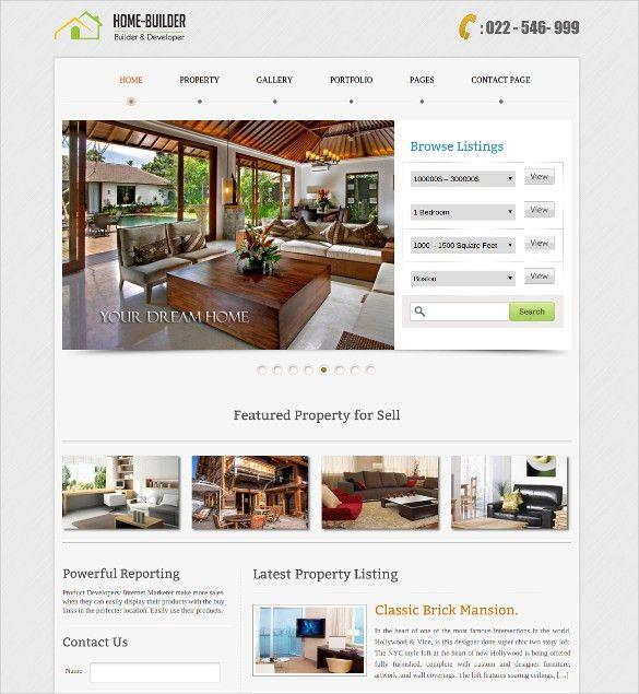 23+ Realtor Website Themes & Templates | Free & Premium Templates