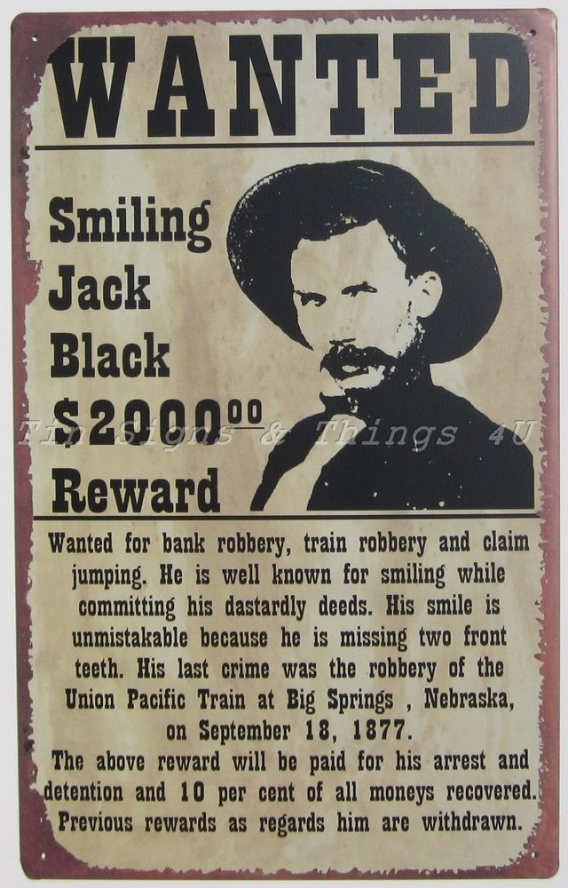 Awesome old wanted poster | Antiques & Oddities | Pinterest | Wild ...