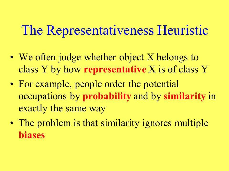 Heuristics and Biases in Human Decision Making - ppt video online ...