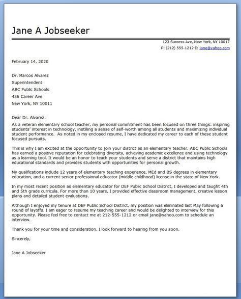 17 Best images about Cover letter on Pinterest | Resume, Teacher ...