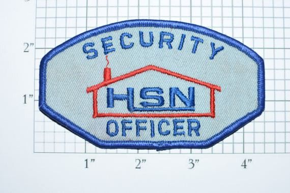 HSN (Home Shopping Network) Security Officer RARE Iron-On Vintage ...
