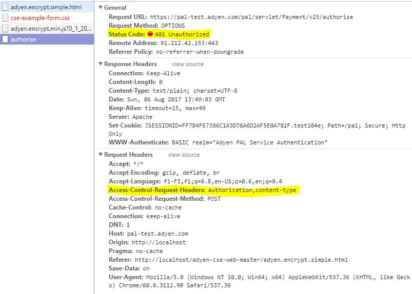 Basic authentication with header - Javascript XMLHttpRequest ...
