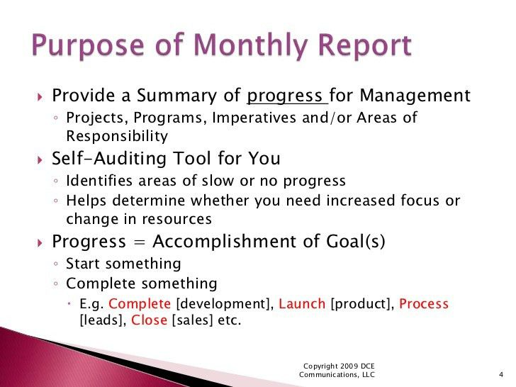Monthly Report Template. 8 Best Images Of Monthly Expense Report ...
