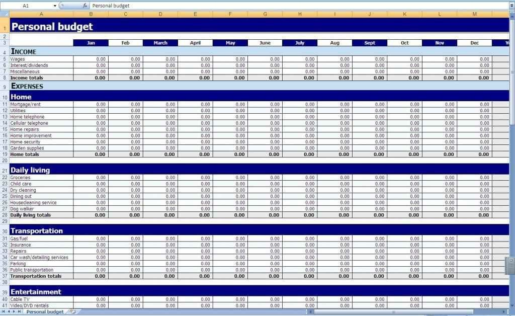 Free Excel Spreadsheet Templates For Small Business | HYNVYX