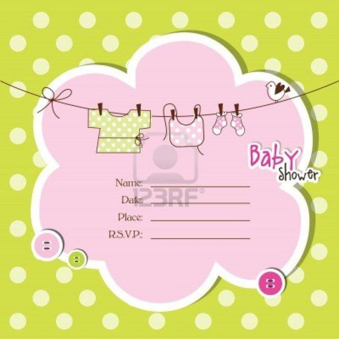 Baby Shower Invitation Templates For A Girl | PaperInvite