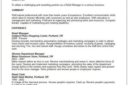 sales associate description for resume normy info lead job retail ...