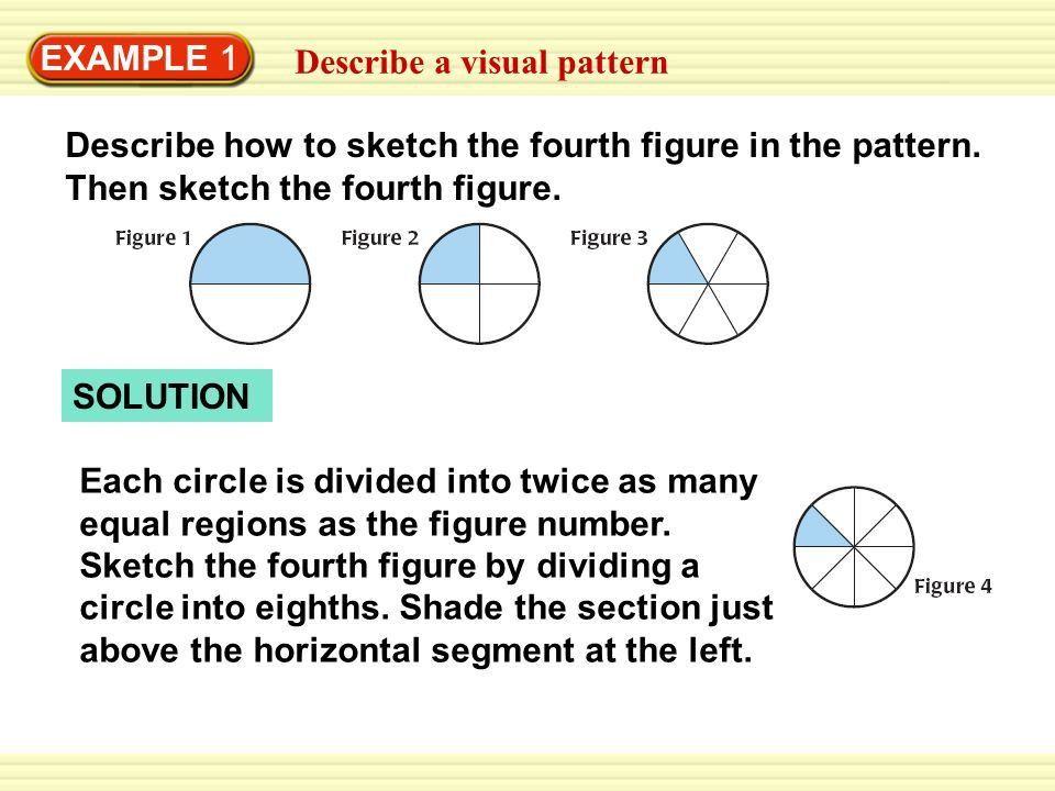 2.1 Use Inductive Reasoning Describe patterns and use inductive ...
