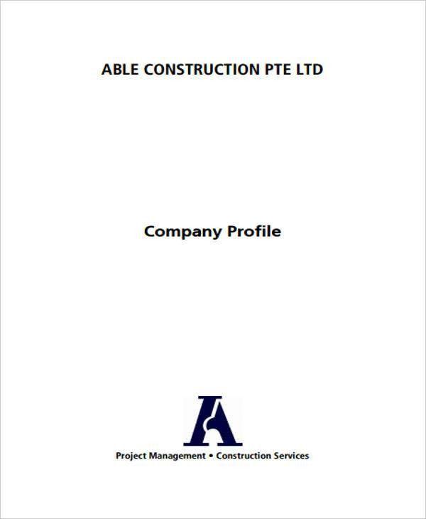 26 Company Profile Sample
