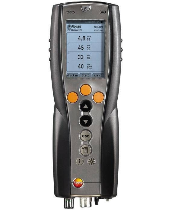 Combustion flue gas analyzer | Testo, Inc