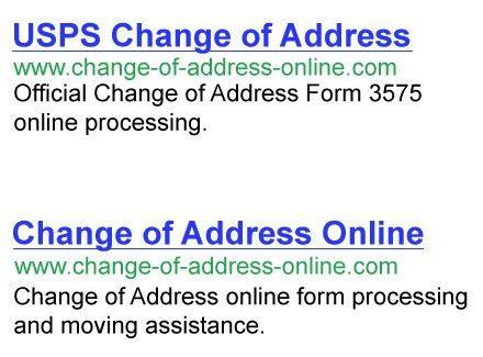 USPS Change of Address makes USPS Address Change online easy ...