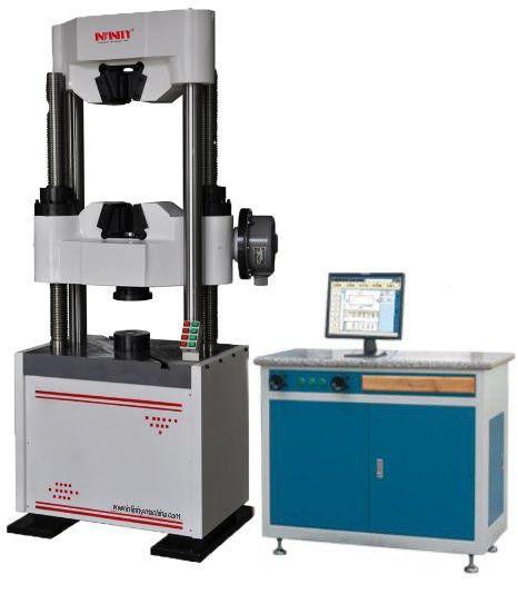Computer Hydraulic Universal Testing Machine , Hydraulic Testing ...