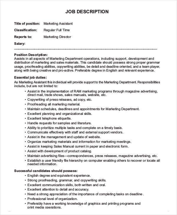 Creative Director Job Description. Job Description: Creative ...