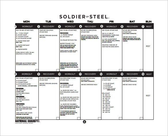 Training Plan Template - 20+ Free PDF Documents Download | Free ...