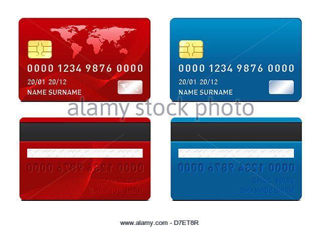 Credit Card Template Design Gold Card Stock Photos & Credit Card ...
