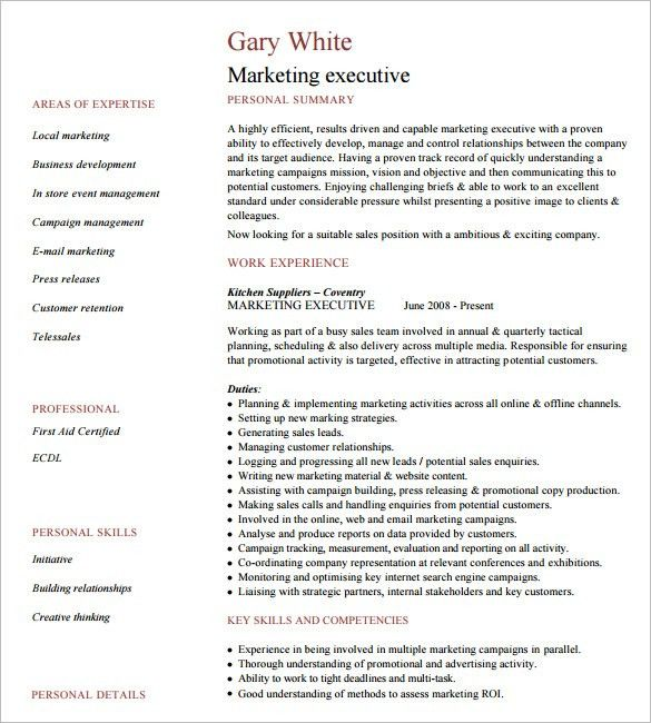 Executive Resume Design. Executive Resume Strategy: Pair Effective ...