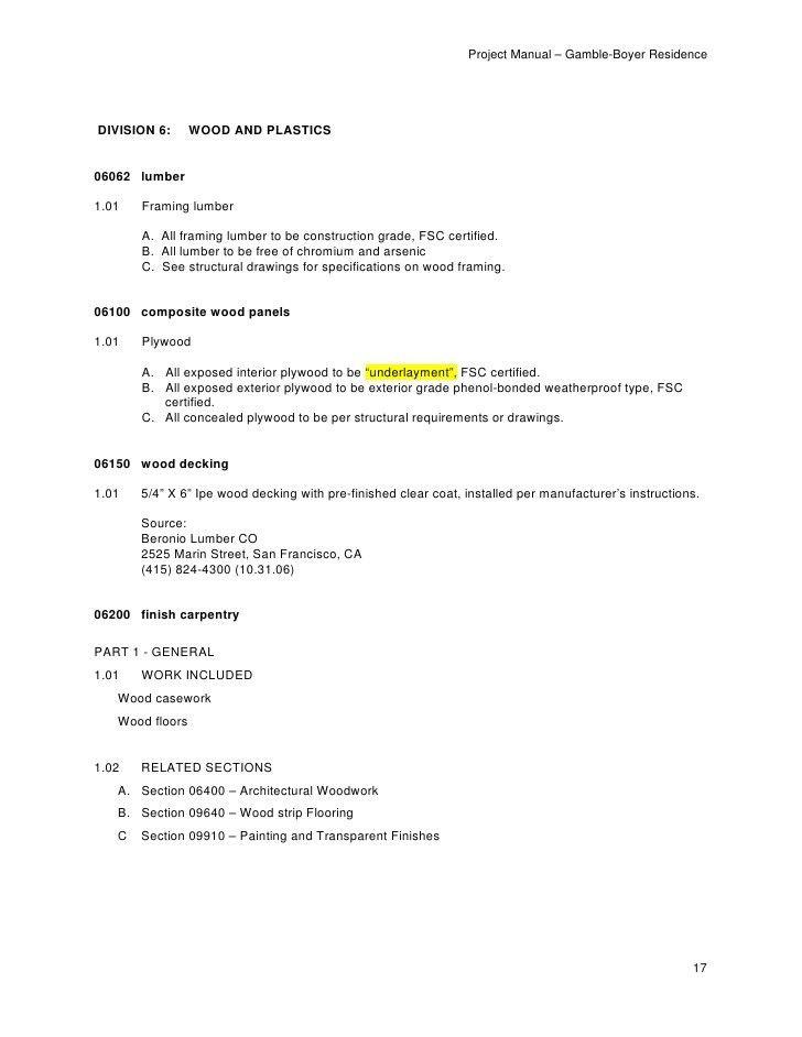 070305 gamble-project-manual