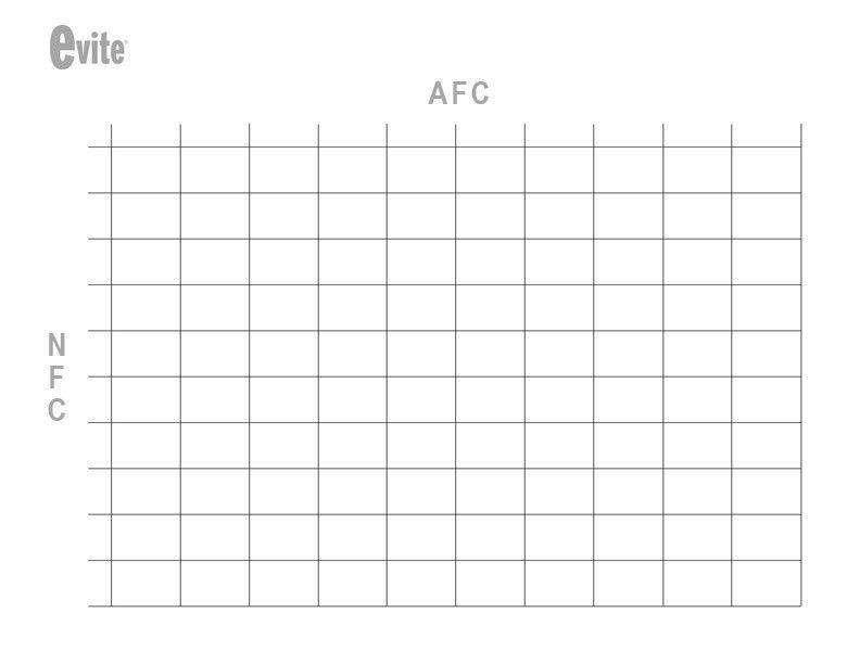 Football Squares Template Excel - Corpedo.com