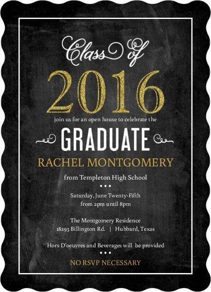 College Graduation Invitation Templates - plumegiant.Com