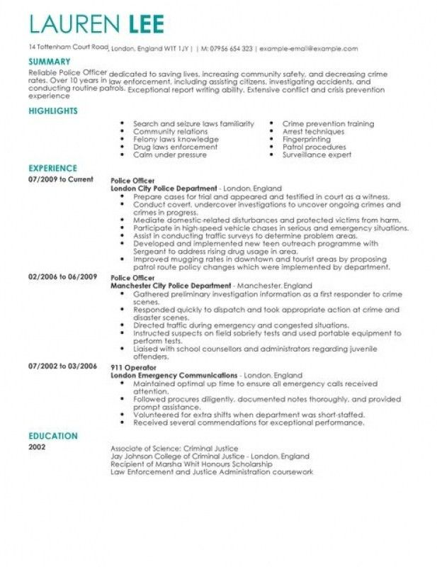 dispatcher resume objective examples 4607
