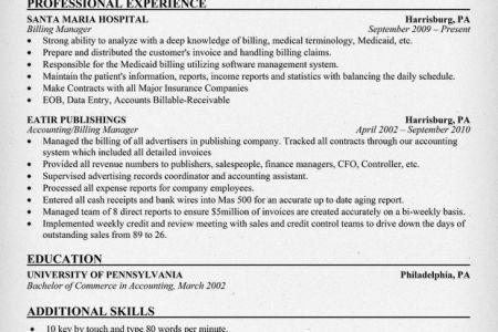 10 Medical Biller Resume Sample Job and Resume Template, Medical ...