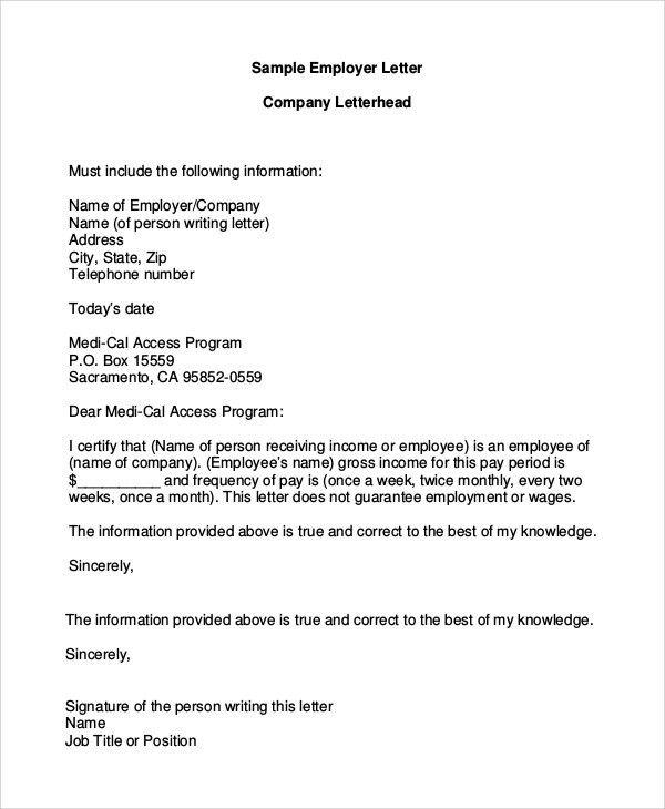 Letterhead Example - 9+ Samples in Word, PDF