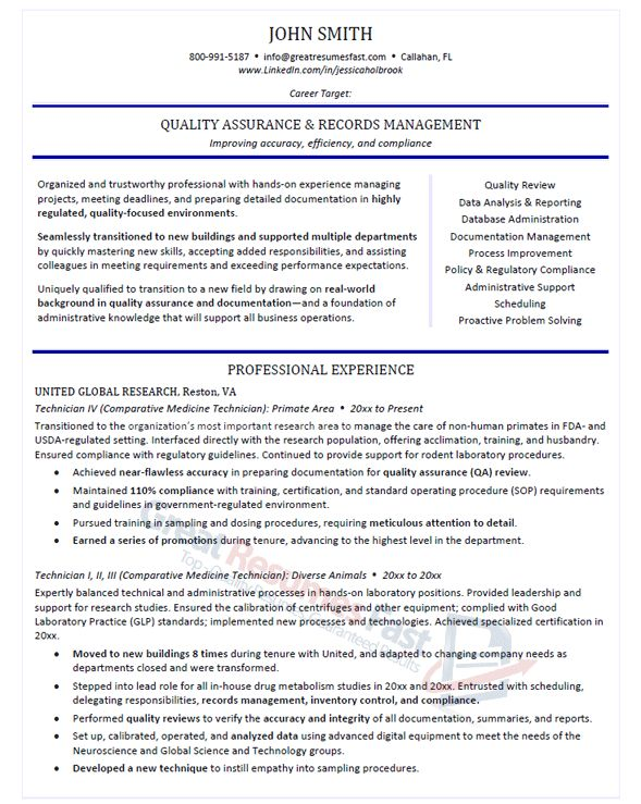 Executive Resume Samples Professional Resume Samples Sample Resume ...
