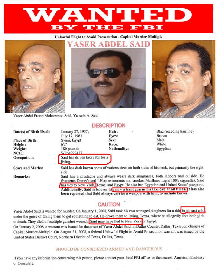 America's Most Wanted (AMW) Profiles Honor Killer Yaser Said in ...