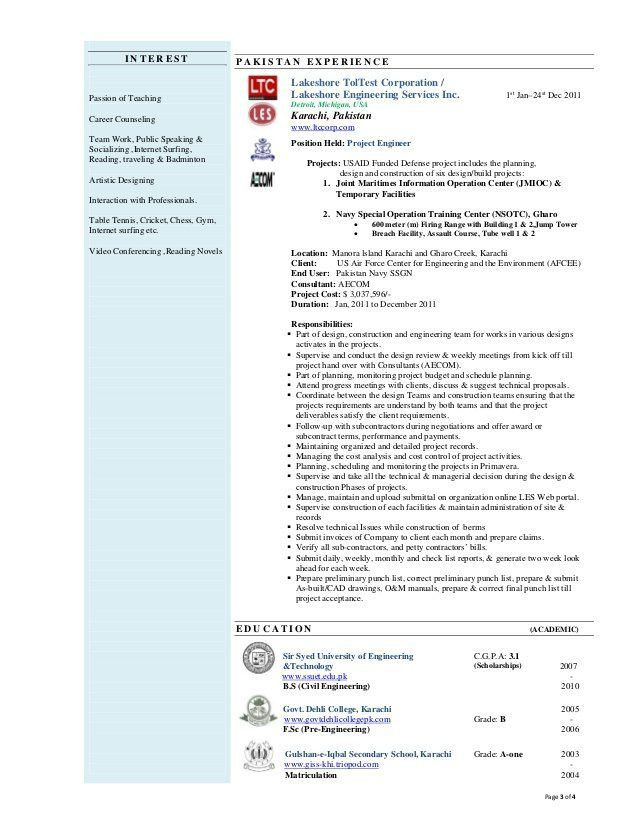 Download Navy Civil Engineer Sample Resume | haadyaooverbayresort.com