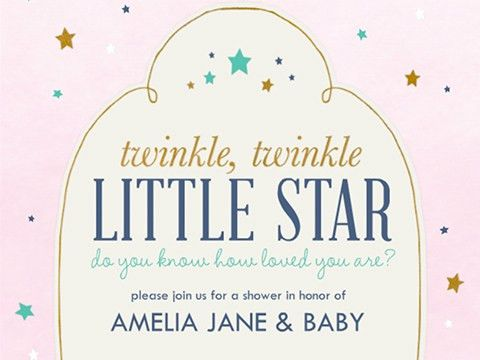 Baby Shower Invitations - Smilebox