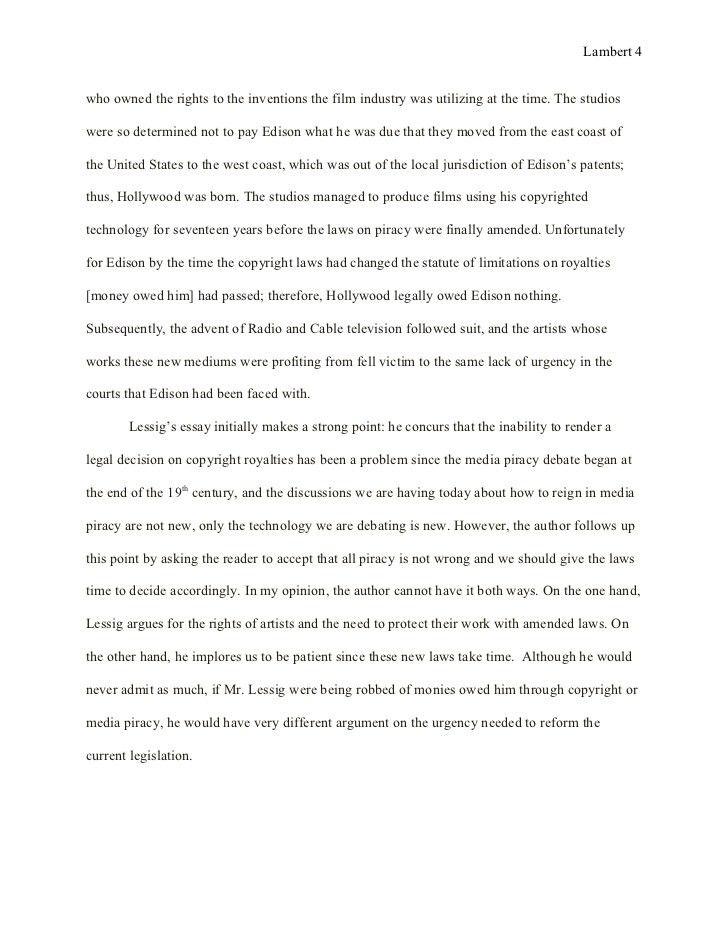 Essay 2: Text Analysis Final Draft 20 June 2012