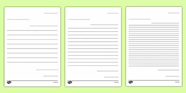 Letter to Future Teacher Writing Template Worksheet - New