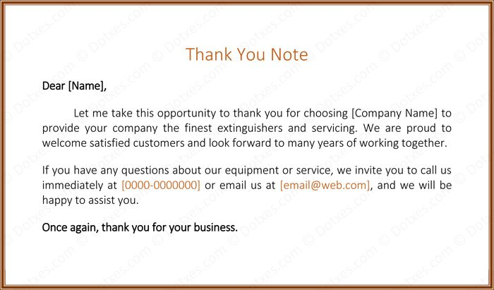 Customer Thank You Letter - 5 Best Samples and Templates