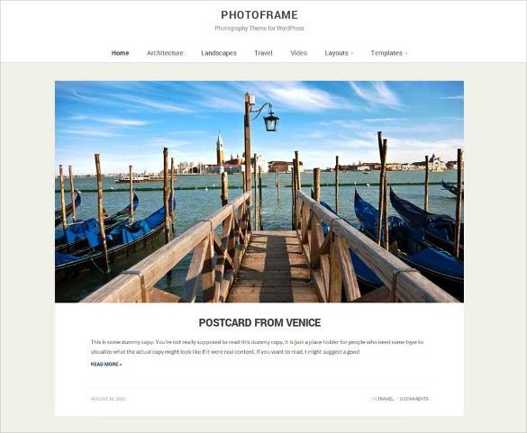 33+ Photographer Website Themes & Templates | Free & Premium Templates