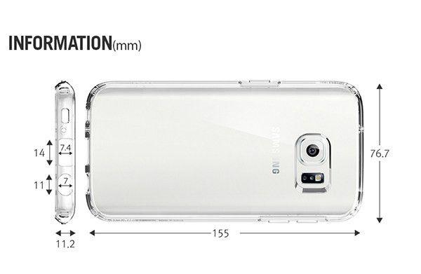 Original Spigen Ultra Hybrid Clear Phone Case Cover for Samsung ...
