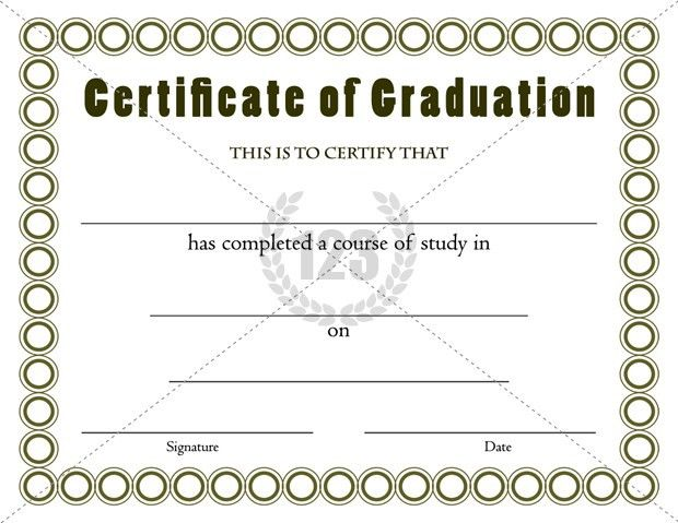 Best Graduation Certificates Template for Outgoing Students ...