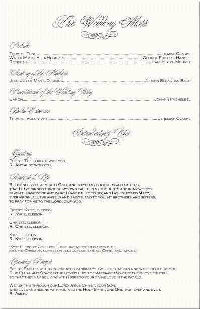 Catholic Wedding Ceremony-Catholic Wedding Traditions-Wedding ...